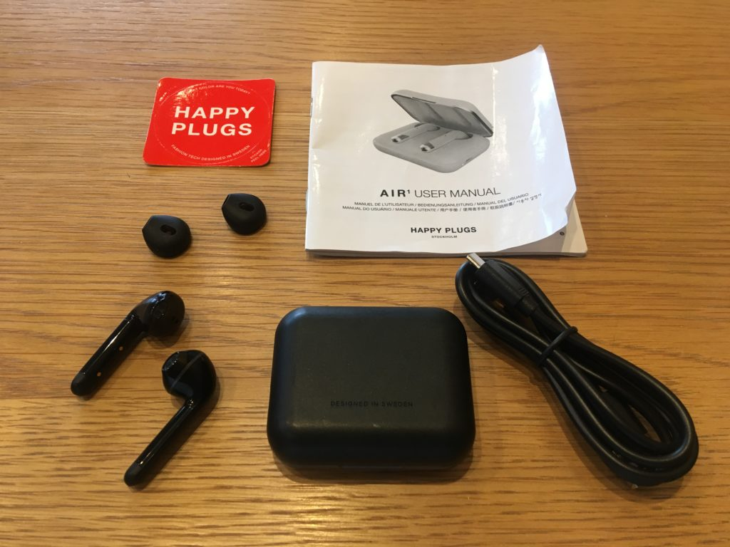 happy plugs air1 付属品